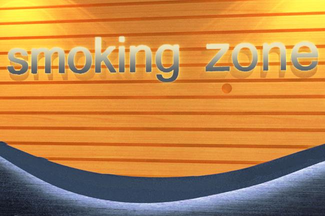 Smoking Lounge - Solution for Smoking Area