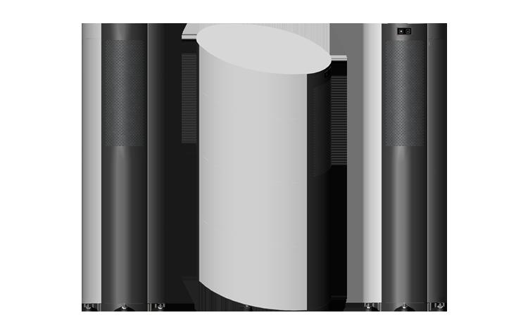Air Purifier - Tower - Smoke Solution