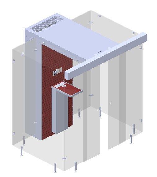SP 160 Sliding Door - Trans