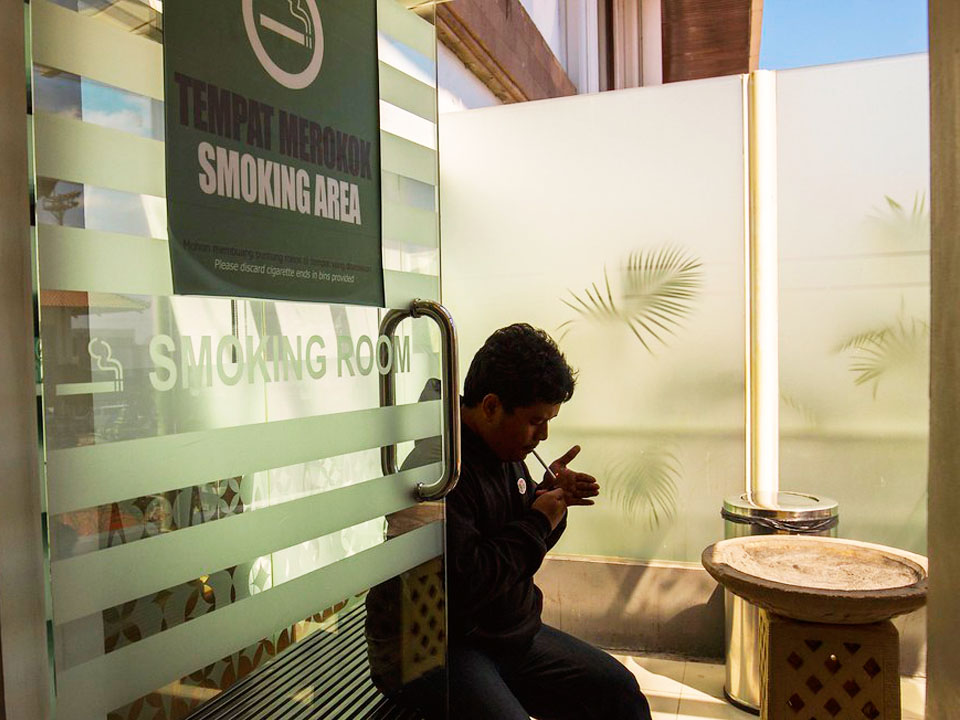 why smoking area is needed?