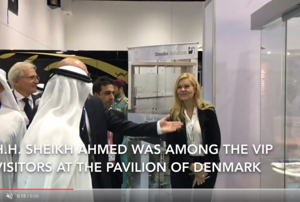 Smoke Solution Airport Show Dubai 2017