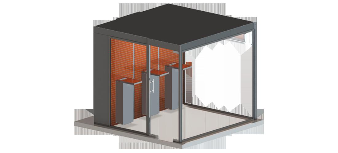 Outdoor Smoking Area by Smoke Solution
